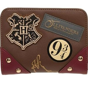 Used Harry Potter Diagon Alley Wallet Harry Potter